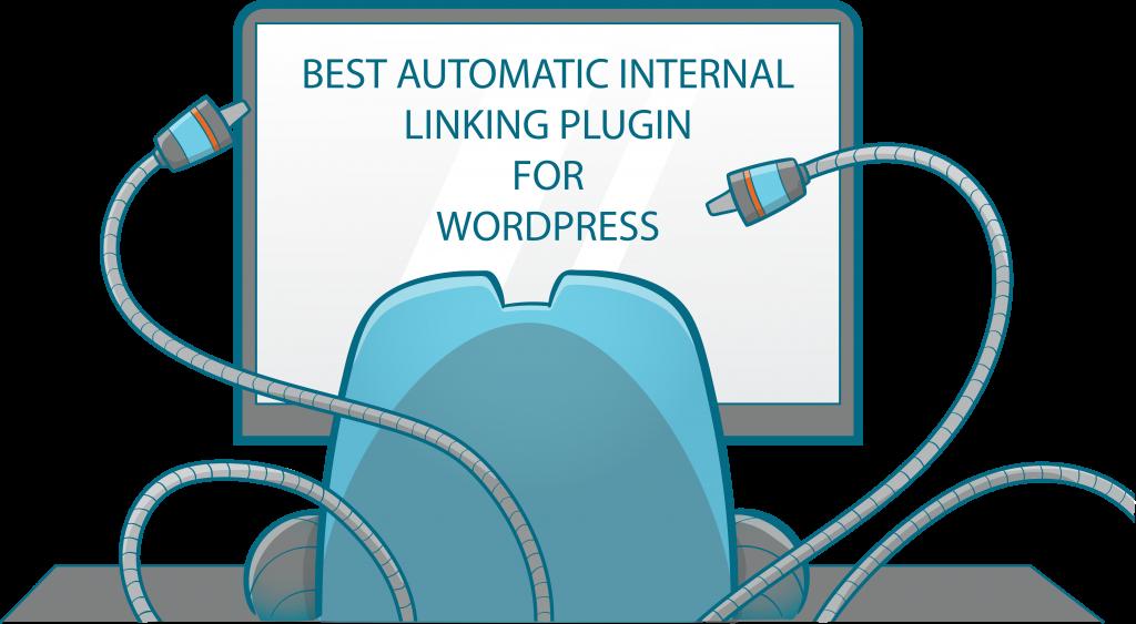Internal Link Juicer Mascot facing to a monitor - automatic internal linking plugin